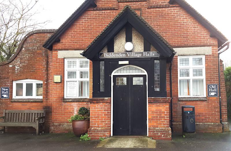 Front Of Biddenden Village Hall