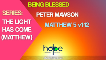 Sunday 9 May 2021 | Peter Mawson | Being Blessed
